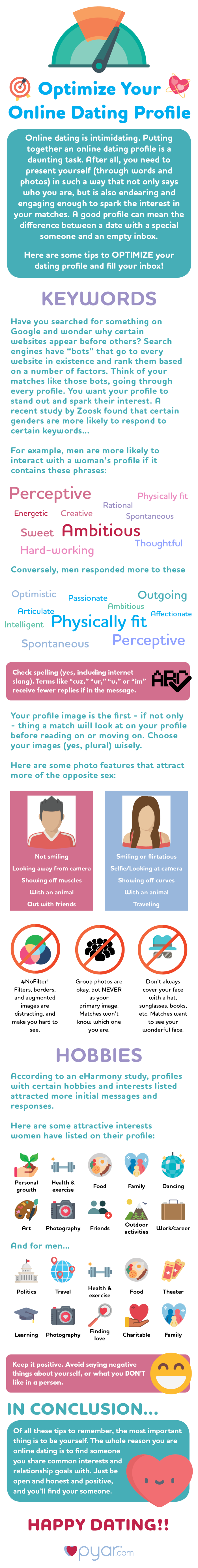 Optimizing your online profile