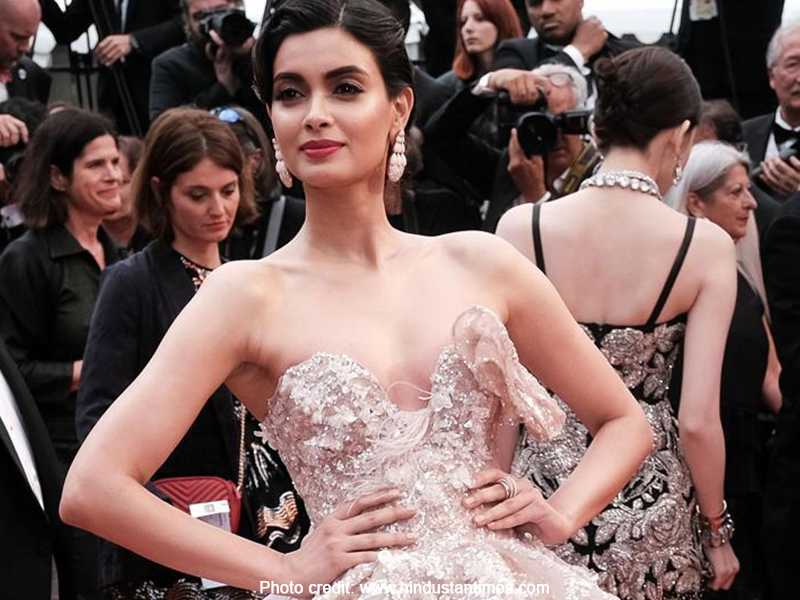 Diana Penty at the Cannes Film Festival