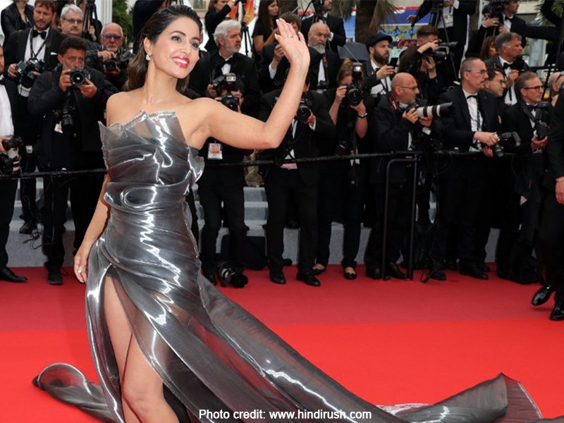 Hina Khan at the Cannes Film Festival